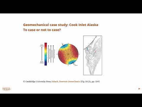 Geomechanical modeling case study,Petroleum Reservoir Engineering and Geology course