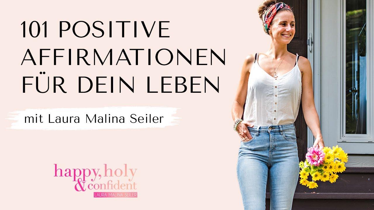 20 positive Affirmationen für dein Leben