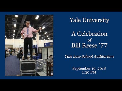 A Celebration of Life for William S. Reese