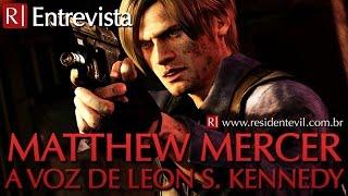 Entrevista com Matthew Mercer - dublador de Leon S. Kennedy