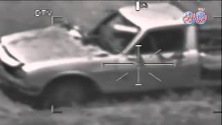 القوات المسلحة تستهدف عربة تايلاندى مخبئة وسط الزراعات
