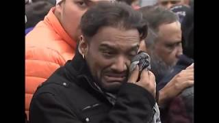 Sabar Koti  Death 25 jan 2018 Cremation full ¦ Master Saleem Crying badly | Must watch