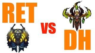 Ret vs DH | RET PALADIN PvP WoW 8.0.1