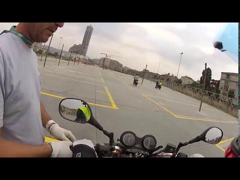 Motosiklet Eğitimi İlk Ders scoter başlangıç ve vitesli motora geçiş