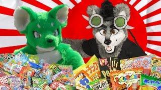 Furries and the japanese candies (Ft. Retia & Hanzo)