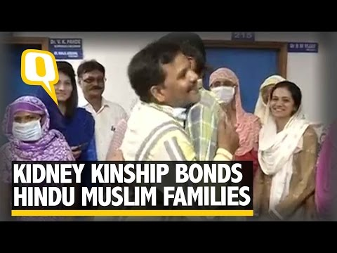 The Quint: Muslim-Hindu Men Donate Kidneys to Each Other's Wives