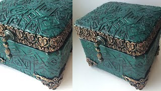 Beautiful jewelry box | Diy jewelry box | Paper box