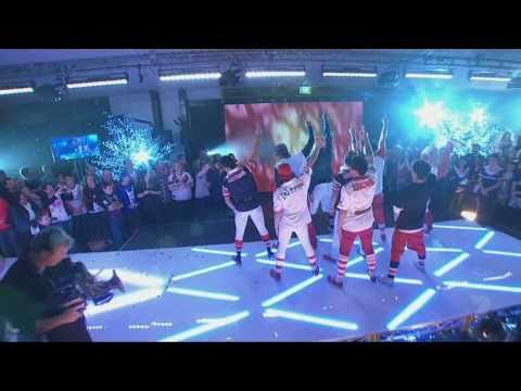 Justice Crew Live on Matty Johns Show
