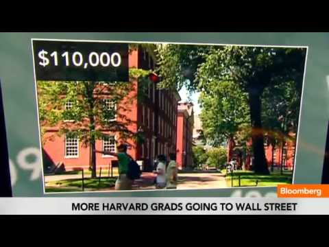 Harvard Grads Expecting a Big Wall Street Pay Day