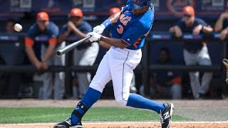 Mets: Curtis Granderson - All Home Runs of 2014 in order [New York Mets]