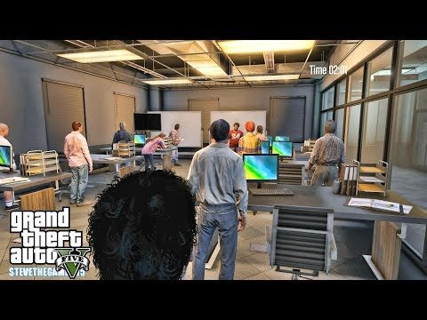 GTA 5 REAL LIFE MOD - JIMMY'S FOURTH DAY IN COLLEGE (GTA 5 REAL LIFE MODS)