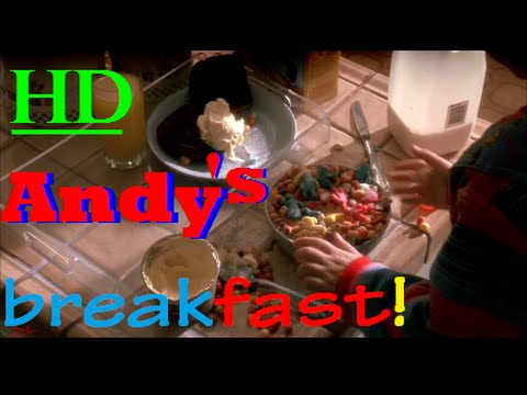 """★GOOD GUY""""BREAKFAST WITH ANDY★  CHILD'S PLAY SCENE 🔪1080pHD✔ 1/3"""