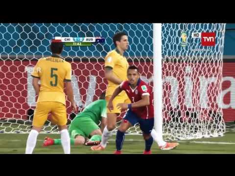 Todos los Goles de la Selección Chilena 2014