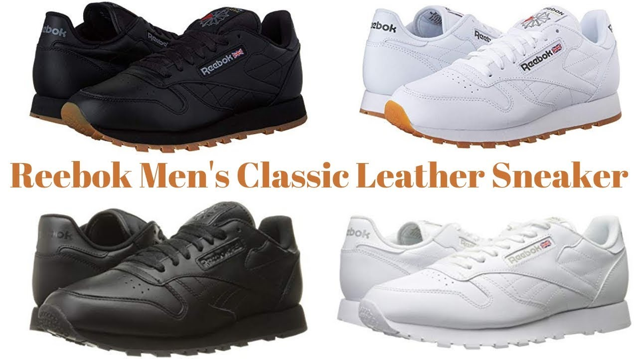 110d73d1bbe Reebok Men s Classic Leather Sneaker !! Reebok Classic Leather !! Fashion  Review