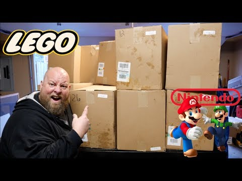 I Paid $404 for $5151 of TOYS & Collectibles + Amazon Customer Returns Pallet Unboxing