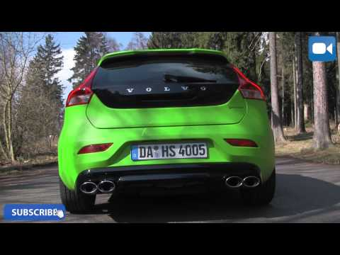 Volvo V40 T5 Heico 320 HP LOUD! StartUp & Revs Exhaust Sound
