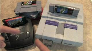 Classic Game Room - SUPER NINTENDO console review