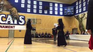 2015 Steveston Kendo Tournament Final Match Taro Ariga x Dean Ara