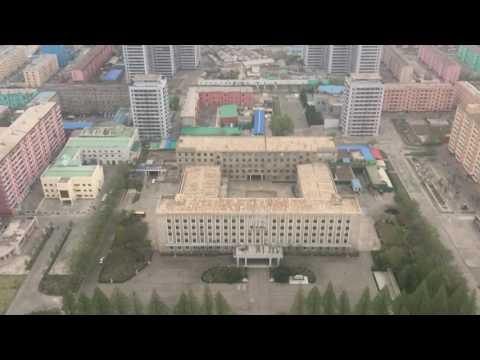 Pyongyang scenic view from Juche-tower - North-Korea