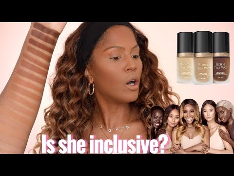 Too Faced x Jackie Aina Born This Way Foundation Review | MakeupShayla