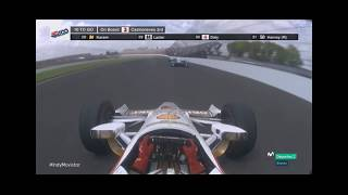 Indy 500 10 laps to go 2017 Takuma Sato Win