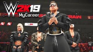 MONDAY NIGHT RAW DEBUT!! MIZ TV!! | WWE 2K19 My Career Mode Ep #11