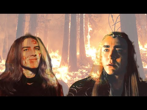 Thranduils Fall | Thranduil X Sauron | Dark Tribute - Fall Of Gil-galad(clamavi De Profundis)