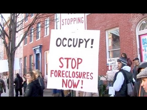 Occupy Baltimore Supports Fight Against Home Foreclosure