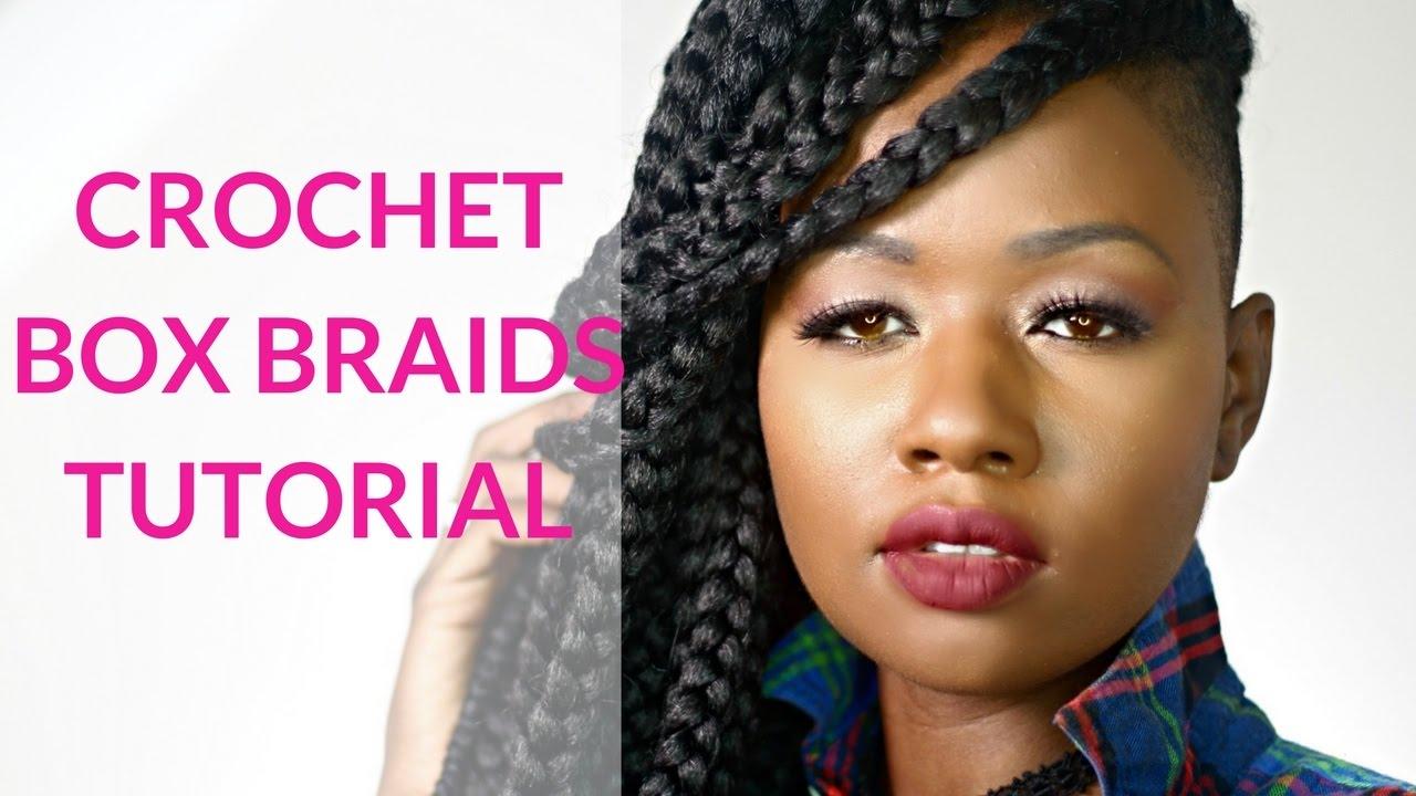 Crochet Box Braids Tutorial - YouTube