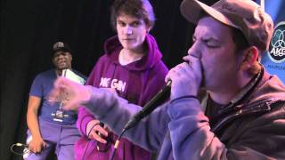 Erni33 vs Phil Harmony - Quarterfinal - German Beatbox Battle 2011