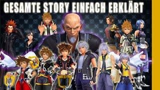 Kingdom Hearts: Gesamte Story einfach erklärt - Nerdcalypse