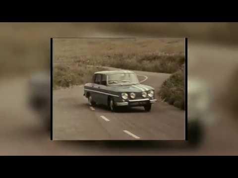 El histórico Renault 8, en Montecarlo
