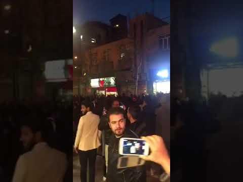 تظاهرات مردم قزوین 8 دی