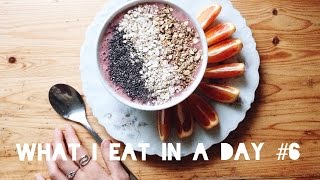 WHAT I EAT IN A DAY #6 I HCLF Vegan Food Diary