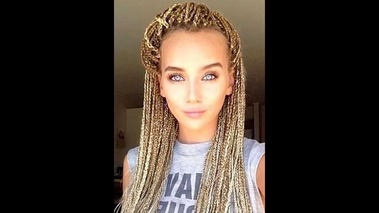 35 Awesome Box Braids Hairstyles You Simply Must Try