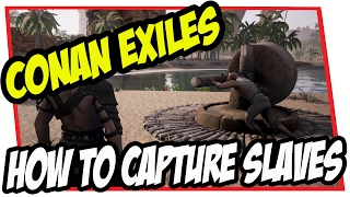 CONAN EXILES - How to Capture Slaves (Thralls) Guide