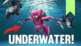 SECRET UNDERWATER GOLF CART GLITCH | FORTNITE FUNNY FAILS AND BEST MOMENTS #036