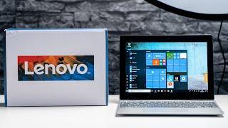 Lenovo IdeaPad D330 Unboxing & Hands On: A Surface Go Alternative