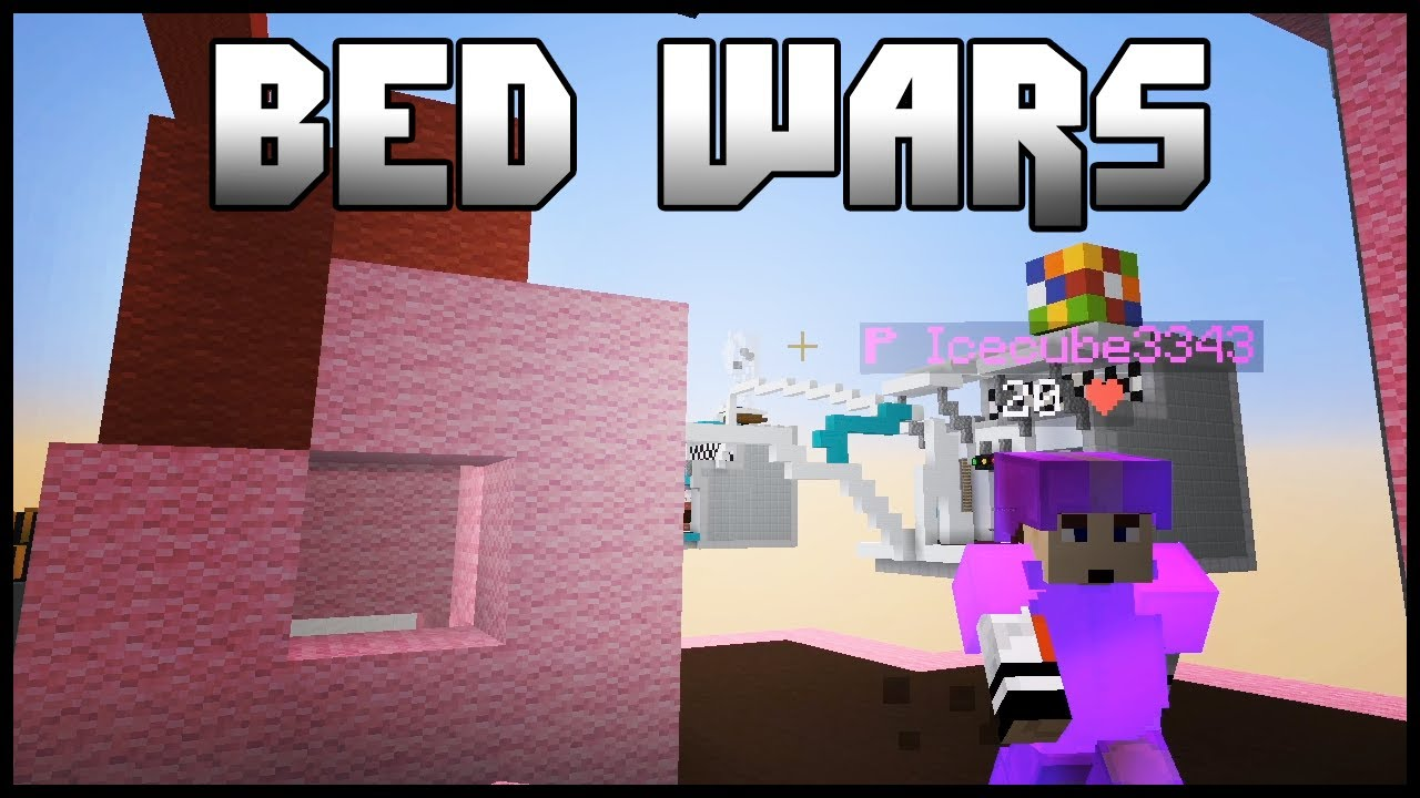 Bed wars on Hypixel with Ice