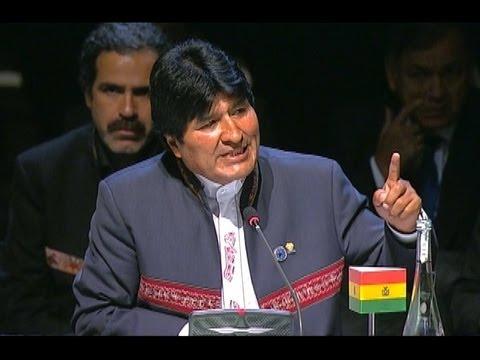 Evo Morales emplazó