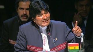 Evo Morales emplazó a Presidente Piñera a recorrer trayecto Arica-El Alto