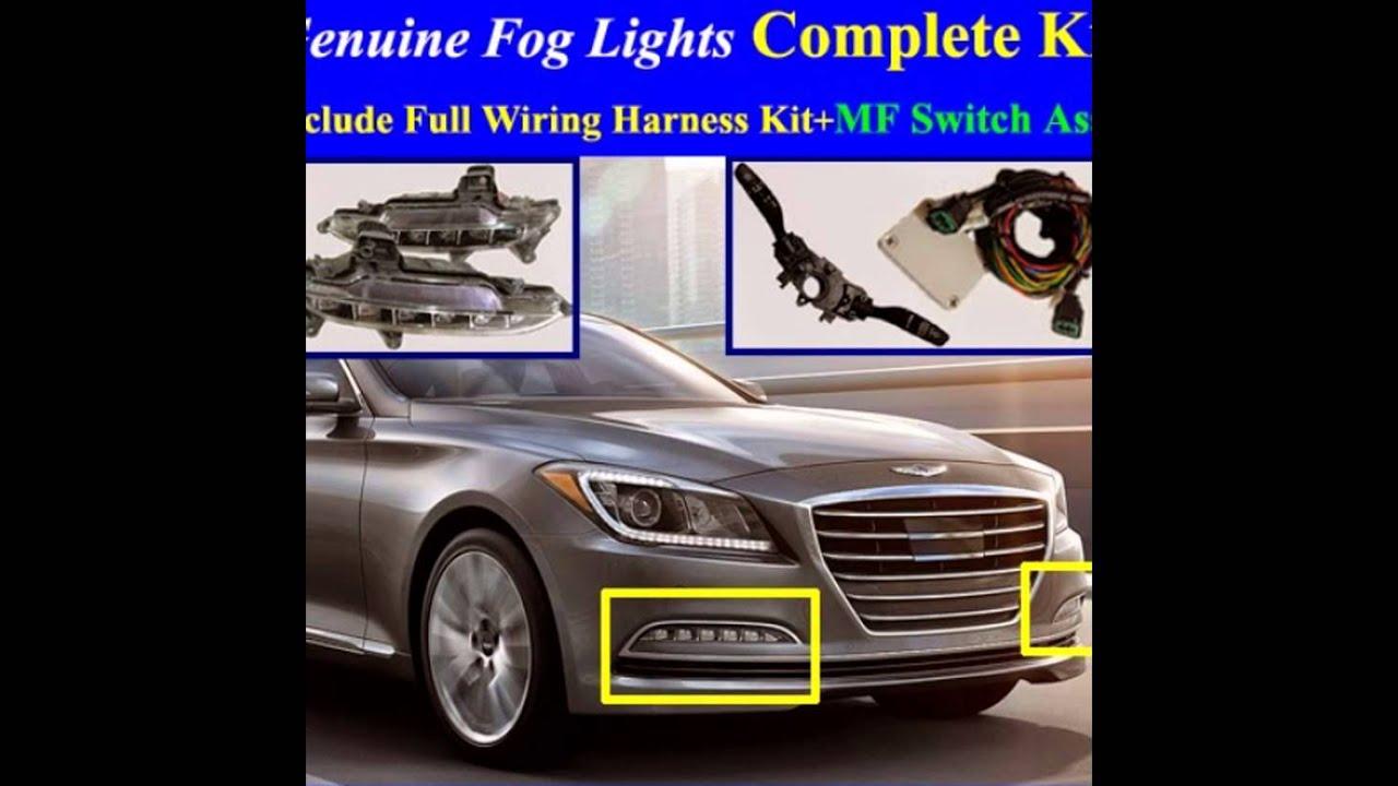 Wiring harness hyundai genesis on 2015~2017 hyundai genesis sedan fog light lamp complete kit,full Hyundai Oil Filter CPS Wiring Harness