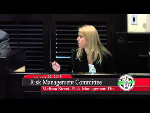 Risk Management Committee - January 22, 2015