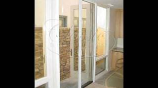Stowaway Retractable Screens For Out‐swing French Door By Toll Free 866 217 9749
