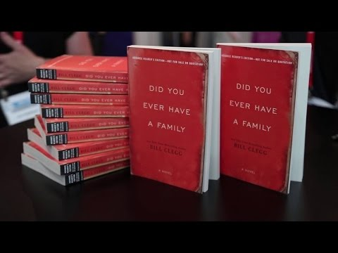 Author Bill Clegg on 'Did You Ever Have a Family' - YouTube