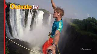 Highlining Victoria Falls  Adidas Outdoor Sports