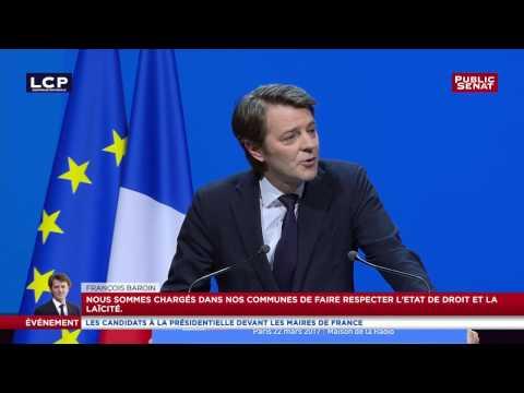 François Baroin demande un contrat de mandature entre l