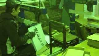 Работа скобосшивателей DX-600, ООО
