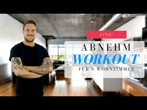 abnehmen training f r zuhause m nner und frauen anf nger live workout youtube. Black Bedroom Furniture Sets. Home Design Ideas