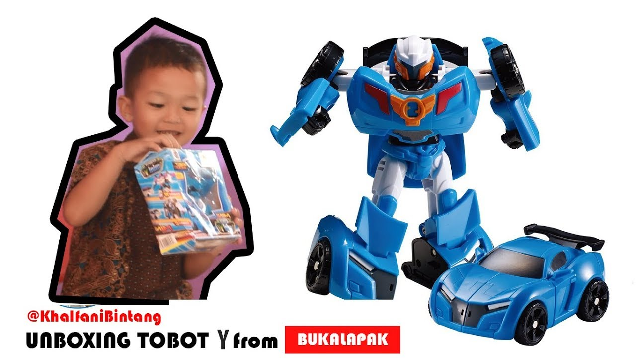 unboxing tobot x y z transformers robot car toys ii bukalapak youtube